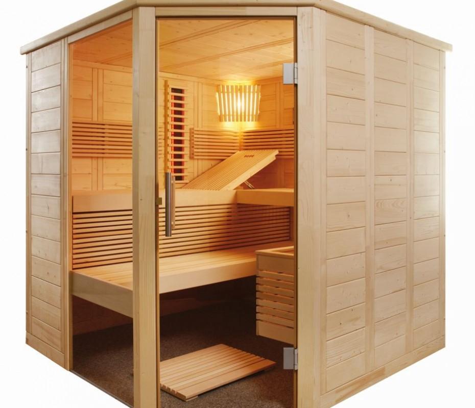 beautiful kleine sauna f rs badezimmer photos house. Black Bedroom Furniture Sets. Home Design Ideas